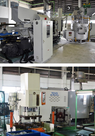 Machine & Equipment   Seishin (Thailand) Co ,Ltd  【Daiki Aluminium